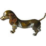 Charming dog figure -Trinket box