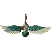 Vintage-trembler Bird pin/clip