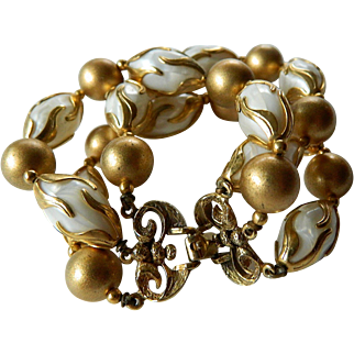 Charming-1950's three row-Beads bracelet