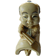Signed and Carved -Japan netsuke