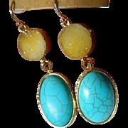 Lovely gold plated Earrings
