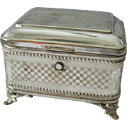 Exquisite- Quad plate Keepsake box-Schiffer Warsaw