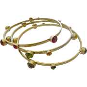 Three bangle bracelet-Set