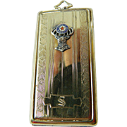 Mens- order of elks= Ornate case