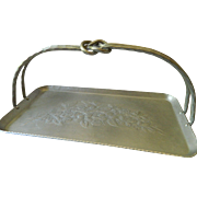 Beautiful- 1950's-1960's Hand forged Serving tray