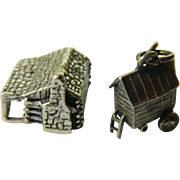 Sterling charms- One Cabin house and One Gypsy wagon