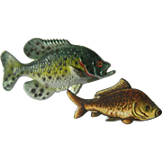 Unique two fishes Pins