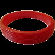 Vintage grooved Bracelet