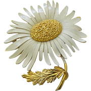 Beautiful-bright summer pin-Signed sunflower