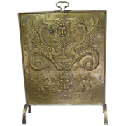Amazing- Brass hand made-Fire place Screen-SALE!
