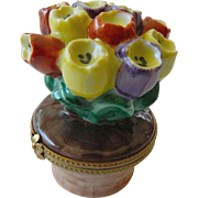 French porcelain-Limoges-Trinket box