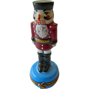 Nutcracker-Limoges Trinket box