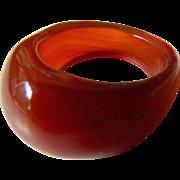 Big- bold-Carnelian ring