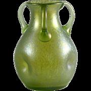 Loetz Three-Handled Vase