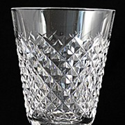 "Waterford ""Alana"" Pattern Crystal Goblets"