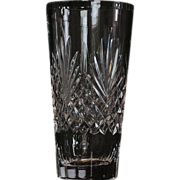 "Wedgwood ""Majesty"" Pattern Crystal Vase"