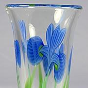 Orient & Flume Iris Vase by Bruce Sillars
