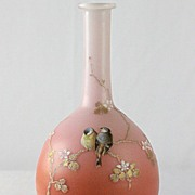 Webb Enameled Vase