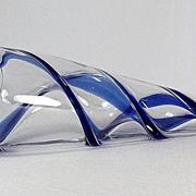 Seguso Viro Swirl Pattern Centerpiece
