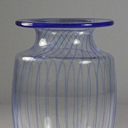 Kosta Boda Striped Vase by Kjell Engman