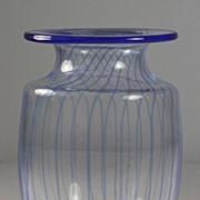 Kosta Boda Striped Vase by Kjell Engman