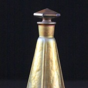 "Rare Quezal Perfume Bottle for ""Melba"""