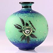 Enameled Vase by Andre Delatte