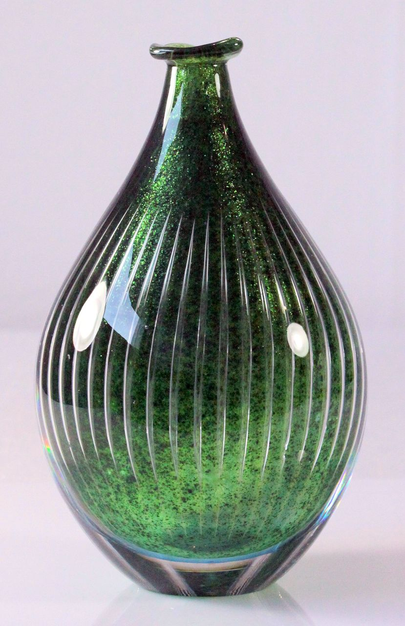 Orrefors Ariel Vase by Edvin Ohrstrom