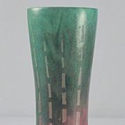 """Le Verre Francais """"Chicorées""""  Pattern Cameo Vase by Schneider"""