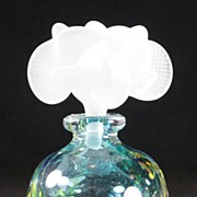 Didier Saba Art Glass Perfume Bottle