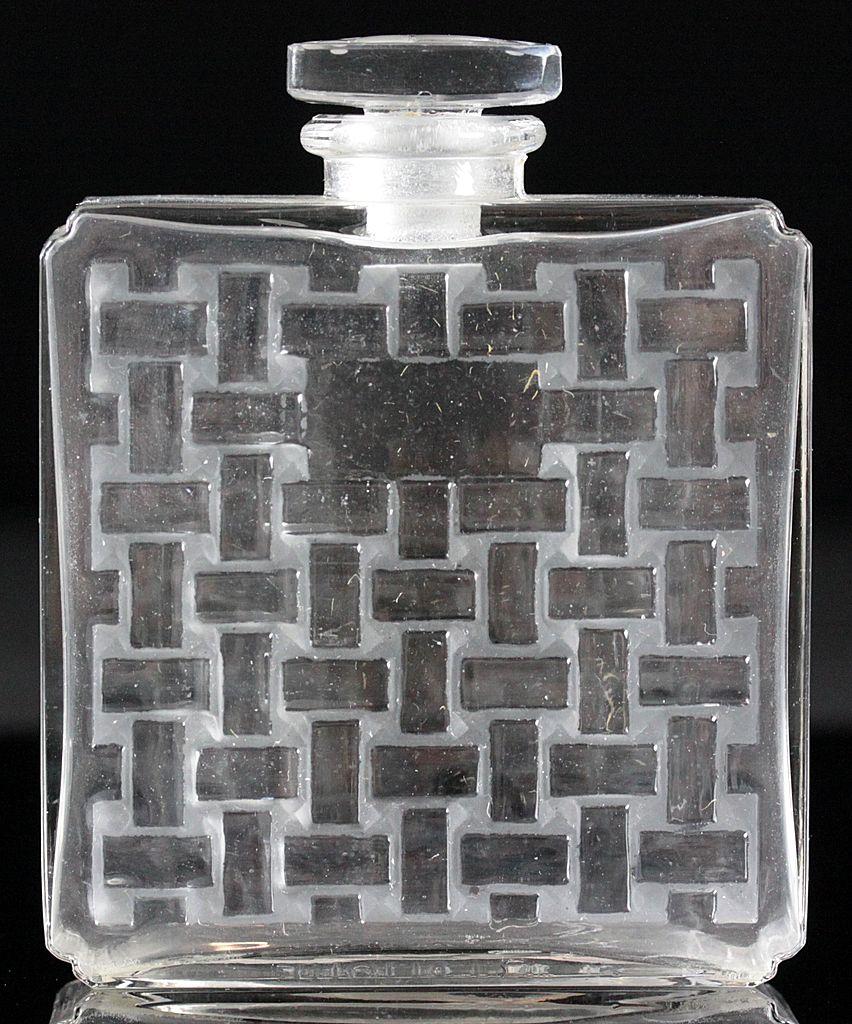 "Ren© Lalique ""Chypre"" Perfume Bottle for Houbigant"