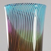 Large and Colourful Murano Vase