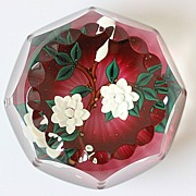 William Manson Limited Edition Faceted Paperweight