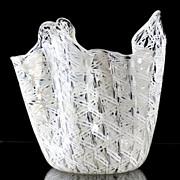 Venini Handkerchief Vase