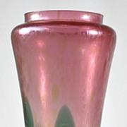 Rindskopf Pulled Pattern Vase