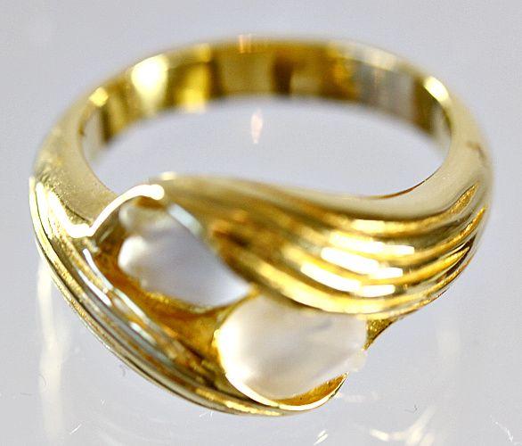 "Lalique ""Toi et Moi"" Muguet Ring"