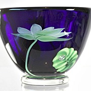 "Orient & Flume ""Water Lily"" Bowl by Bruce Sillars"