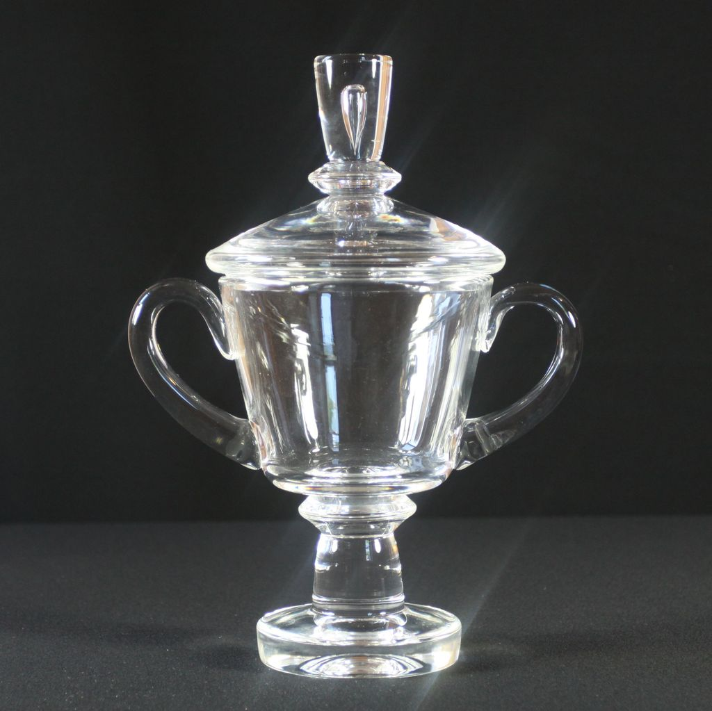 Steuben Crystal Covered Urn