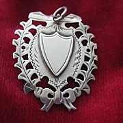 English Hallmarked Silver Victorian Medal