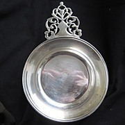 REDUCED: Vintage Large Size (5 inch wide) Silverplate Porringer