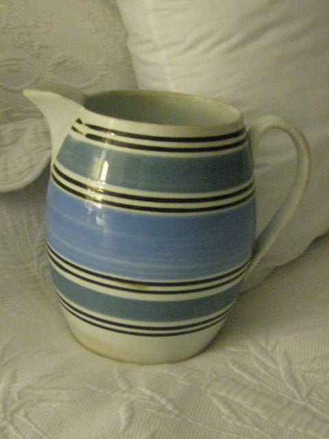 REDUCED LARGE (7  1/2 ins) Mocha English Pitcher
