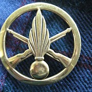 French Foreign Legion 7 Feather Badge