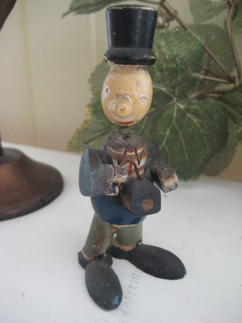 Very Old and Darling Folk Art Man