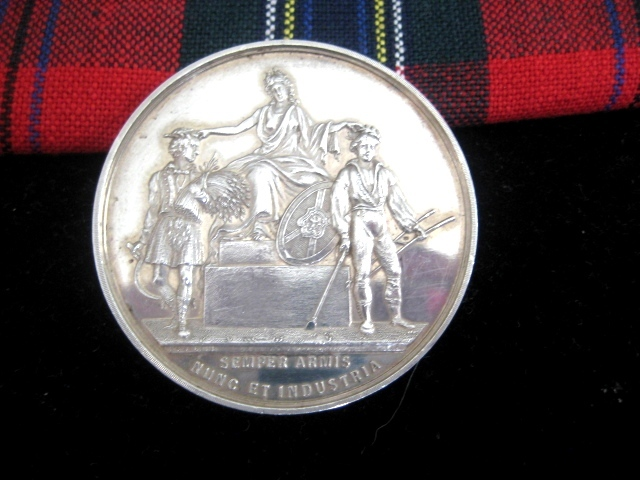 Scottish Agricultural Soc. Perchorn Gelding Medallion