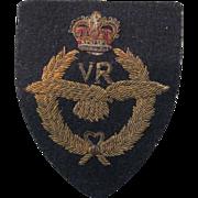 Royal Air Force Bullion Badge, Volunteer Reserve