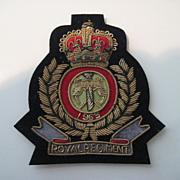 Royal Regiment Bullion Badge