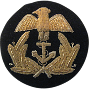 Naval Bullion Badge