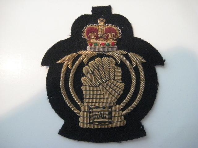 """British Army bullion Badge """"RAC"""""""