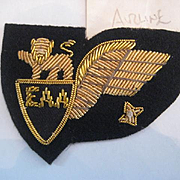 East Africa Airlines 1950s Pilot Badge