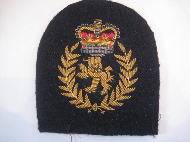 Royal Navy Bullion Badge